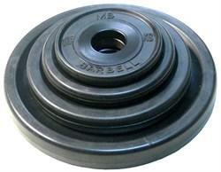 Диски обрезиненные евро-классик Barbell черные, вес от 1,25 до 25 кг в ассортименте - фото 12517