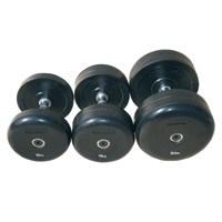 Комплект гантелей «JOHNS»75074 от 22,5 до 30 кг черные - фото 13158
