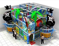 Игровой лабиринт «Пиратский корабль» - фото 13573