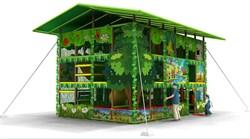 Уличная детская игровая комната лабиринт «Лукоморье» - фото 13616