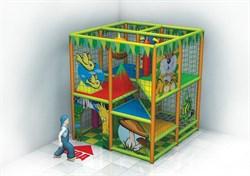 Детская игровая комната лабиринт Кнопка - фото 13619