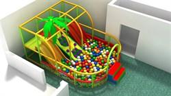 Детская игровая комната лабиринт Веселая горка - фото 13626