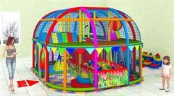Детская игровая комната лабиринт Калейдоскоп - фото 13633