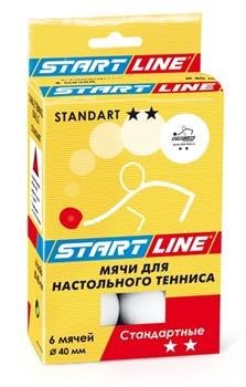 Мячи для настольного тенниса Start-line STANDART 2* - фото 13679