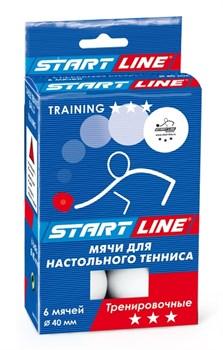 Мячи для настольного тенниса Start Line TRAINING 3* - фото 13681