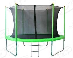 Батут JunHop 10 ft (305см) комплект зеленый / синий - фото 14713