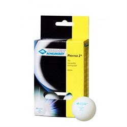 Мячики DONIC PRESTIGE 2*, 6 шт для настольного тенниса  - фото 19819