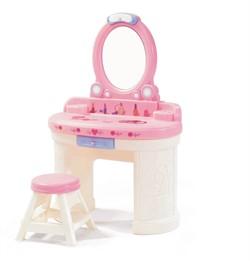 """Туалетный столик """"Маленькая Барби"""" Step-2 - фото 20103"""