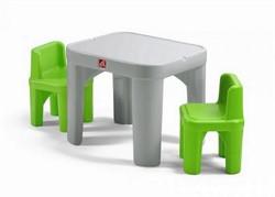 Детский столик с двумя стульями Step-2 - фото 20171