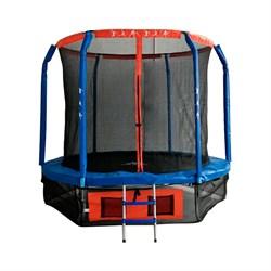 Батут DFC JUMP BASKET 10 ft с сеткой и лестницей - фото 25818