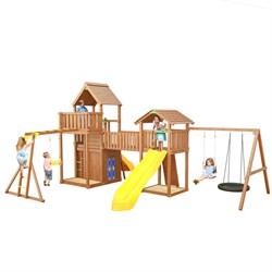"""Детская деревянная площадка Jungle Gym JВ14 """"Эверест"""" - фото 26143"""