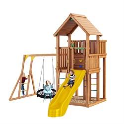 """Детская площадка деревянная Jungle Gym JP10 """"Тибет"""" - фото 26163"""