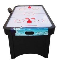 Игровой стол аэрохоккей DFC Blue Ice - фото 5698