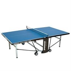 Всепогодный теннисный стол Donic Outdoor Roller 1000 синий - фото 6038