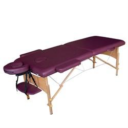 Складной массажный стол DFC Nirvana Relax сливовый - фото 6484