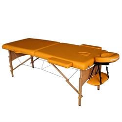 Складной массажный стол DFC Nirvana Relax горчичный - фото 6489