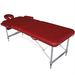 Складной массажный стол DFC Nirvana Elegant Luxe бордо - фото 6520