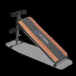 Скамья для пресса Oxygen Flat Sit Up Board - фото 7001