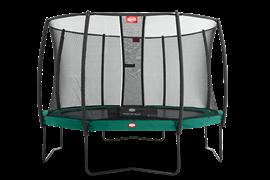 Батут Berg Champion 430 + защитная сеть Safety Net Deluxe (комплект)