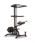 Тренажер гравитрон для приседаний, подтягиваний, отжиманий Powertec Lever Gym TM Chin Dip Assist Plus L-CDA+13