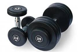 Гантельный ряд DB182 от 2,5 до 25 кг