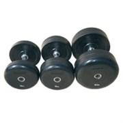Комплект гантелей «JOHNS»75074 от 52,5 до 60 кг черные