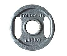 Диски металлические с хватом StarsFit, вес от 1,25 до 25 кг в ассортименте