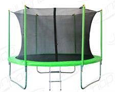 Батут JunHop 10 ft (305см) комплект зеленый / синий