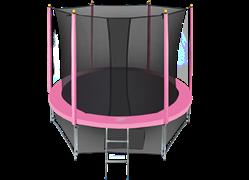 Батут с сеткой Hasttings Classic 8 ft (244 см) комплект Pink