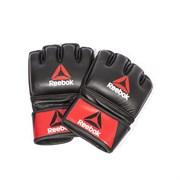Профессиональные кожаные перчатки Reebok Combat для MMA