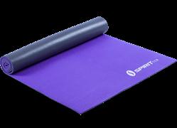 Коврик для йоги 6 мм серебристо-фиолетовый Spirit Fitness