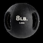 Тренировочный мяч Body-Solid с хватами 3,6 кг (8lb)