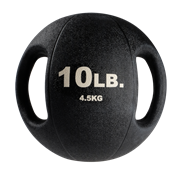 Тренировочный мяч Body-Solid с хватами 4,5 кг (10lb)