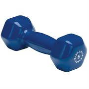 Виниловая гантель для фитнеса Body-Solid 2,3 кг (5 lb)