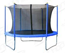 Батут JunHop 8 ft (244 см) комплект зеленый / синий