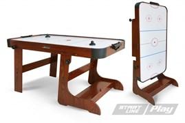 Игровой стол аэрохоккей Start Line Transform Ice