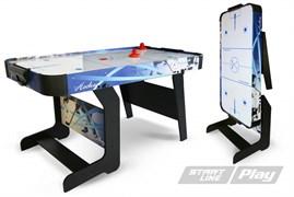 Игровой стол аэрохоккей Start Line Compact Ice