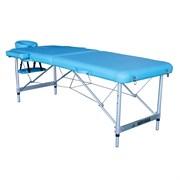 Массажный стол складной DFC NIRVANA Elegant Luxe Lt.Blue