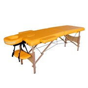 Массажный стол складной DFC NIRVANA Optima Mustard