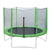 Батут DFC Trampoline Fitness 10 ft (305 см) green