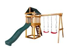 Детская игровая площадка Babygarden Play 2 темно-зеленая