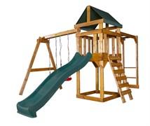 Детская игровая площадка Babygarden Play 4 темно-зеленая