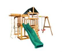 Детская игровая площадка Babygarden Play 8 темно-зеленая