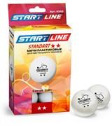 Мячи для настольного тенниса Start Line STANDART 2*