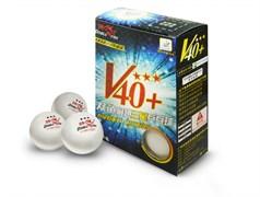 Мячи для настольного тенниса DOUBLE FISH 40+ 3*