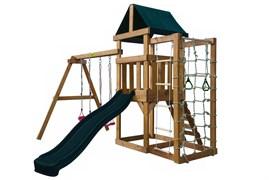 Детская игровая площадка Babygarden Play 10 темно-зеленая