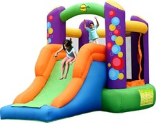 Надувной батут Happy Hop Воздушные шары 9236