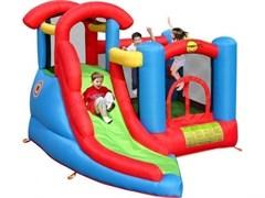 Надувной батут Happy Hop Веселый малыш 6 в 1 9371
