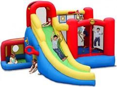 Надувной батут Happy Hop Игровой центр 11 в 1 9406