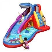 Надувная водная горка Акула Happy Hop 9417